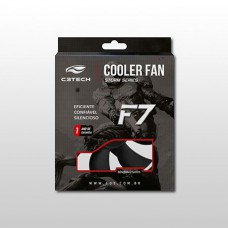 COOLER FAN P/GABINETE 80x80x25 PRETO F7-50BK C3 TECH